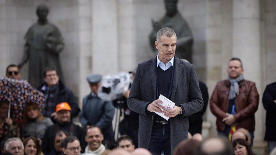 Toni Cantó confirma que se presentará a las primarias de Cs para ser candidato a presidir la Generalitat Valenciana