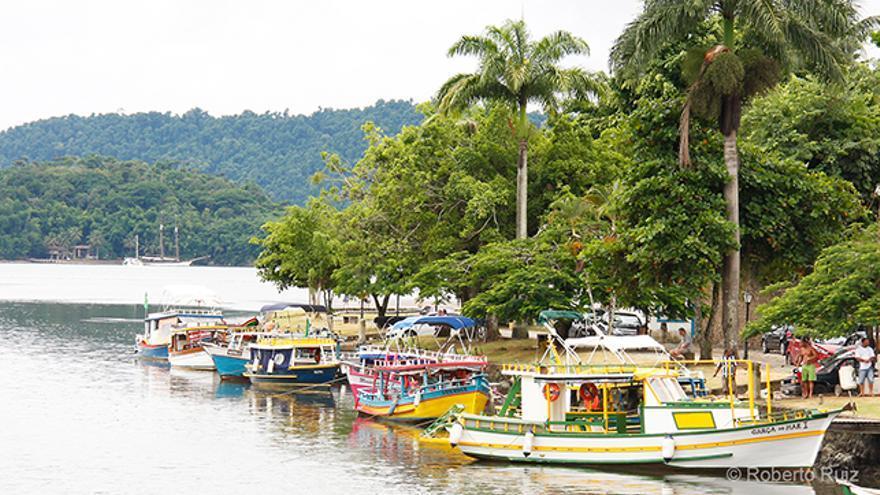 La ciudad colonial de Paraty en Brasil