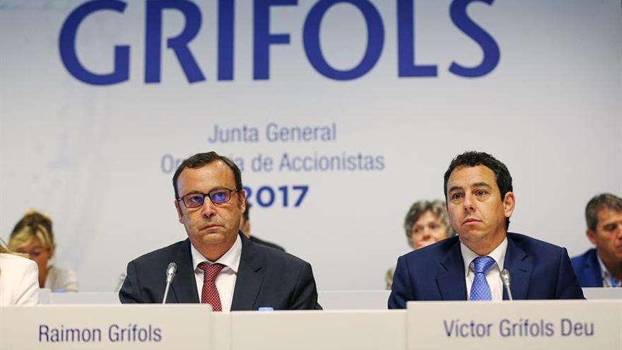 Grifols gana 432 millones en los nueve primeros meses de 2017, un 6,3 % más