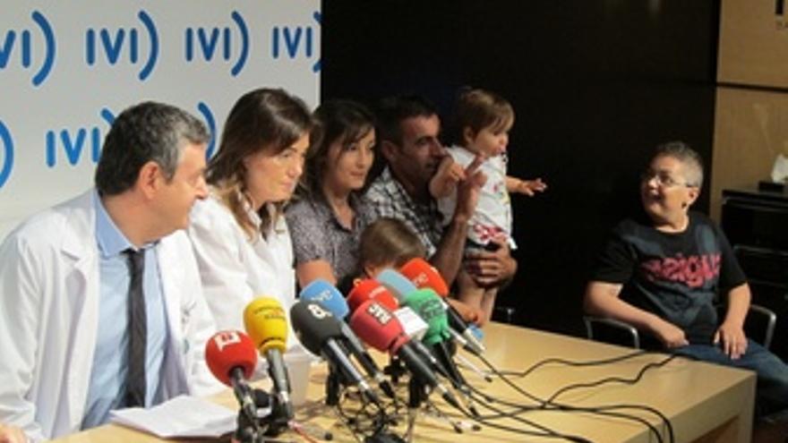 El Hospital Sant Pau y el IVI presentan la curación de un niño con células madre