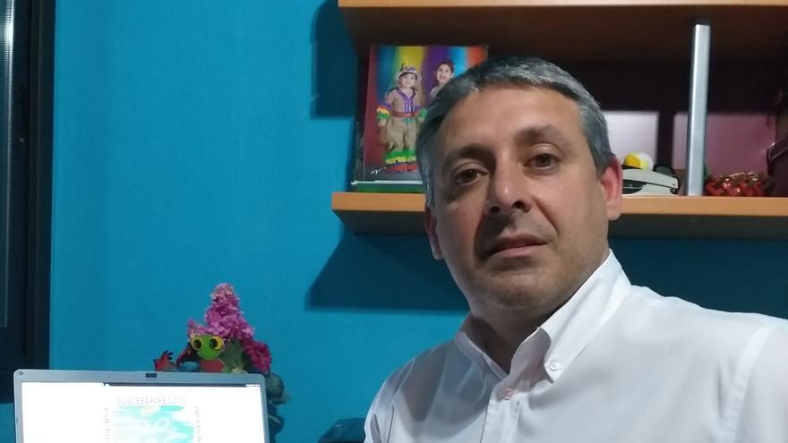 Santiago Carlos Martín es el coordinador de SOS Desaparecidos en Canarias.
