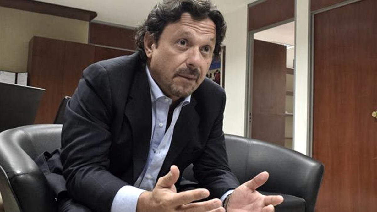 El gobernador de Salta, Gustavo Sáenz
