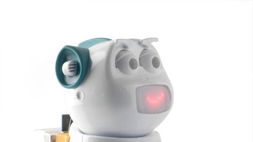 La empresa española Aisoy comercializa un perro robótico
