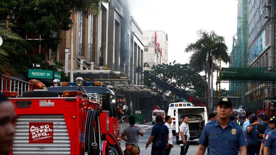 El asaltante del casino de Manila trató de simular un ataque terrorista