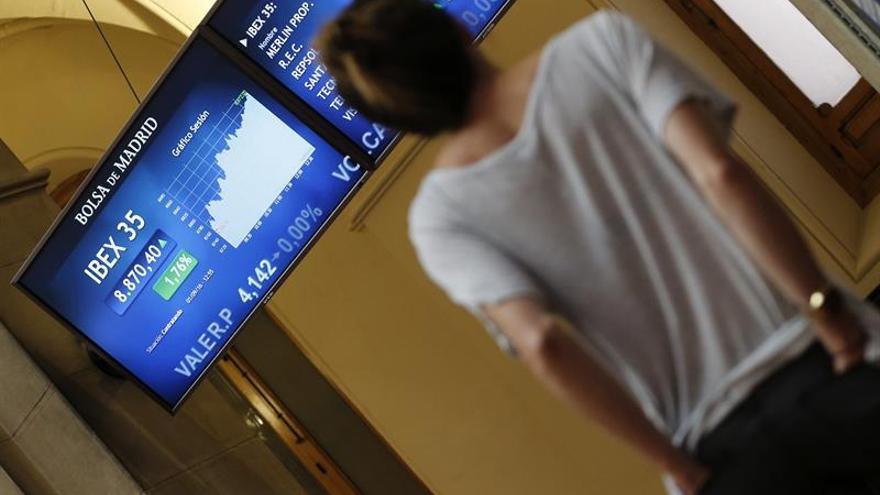 La Bolsa española gana un 0,35 por ciento minutos después de la apertura