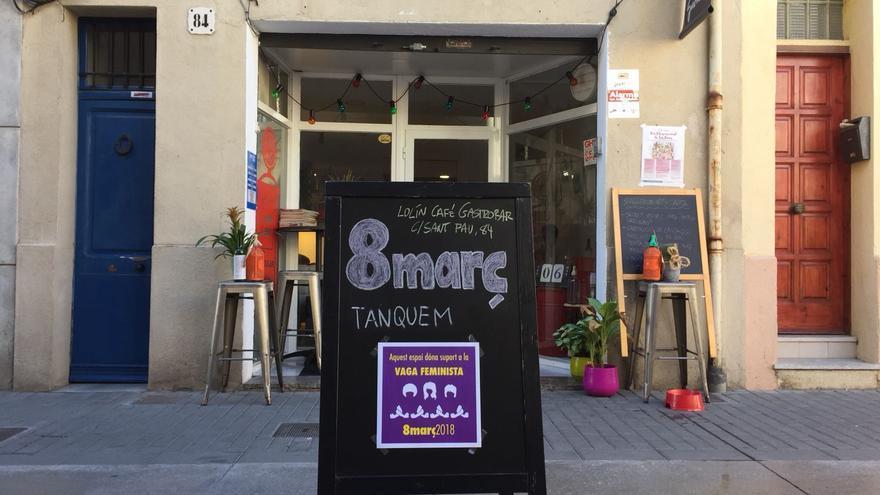 El gastrobar Lolín Café, en Badalona, cerrará el 8M / Foto cedida