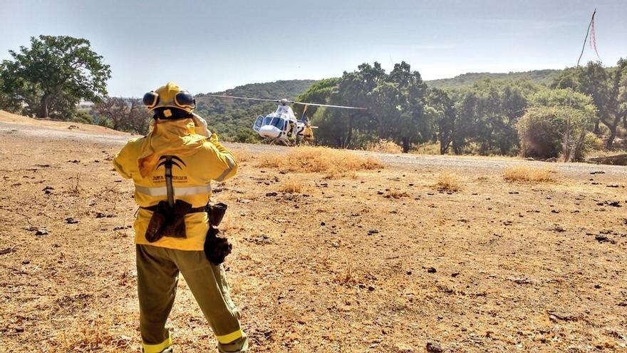 Declarado un incendio forestal en Zahara de la Sierra