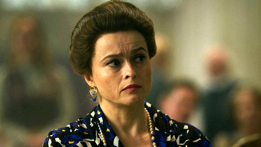Helena Bonham Carter en 'The Crown'