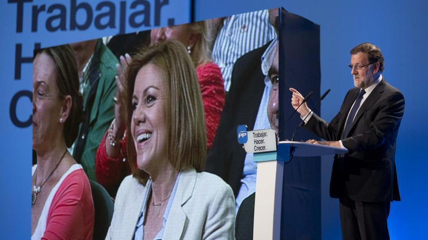 Mitin Cosoedal y Rajoy. Foto: Mariano Rajoy | Twitter