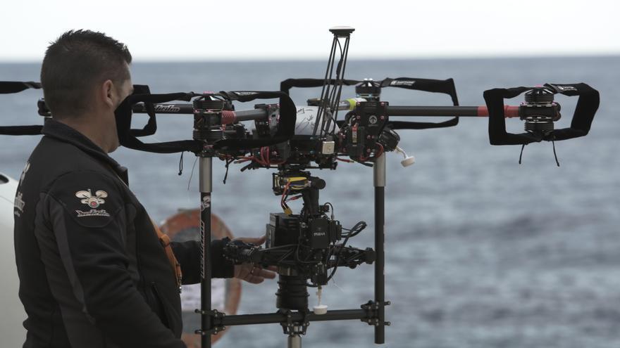 Uno de los drones de Helifilm