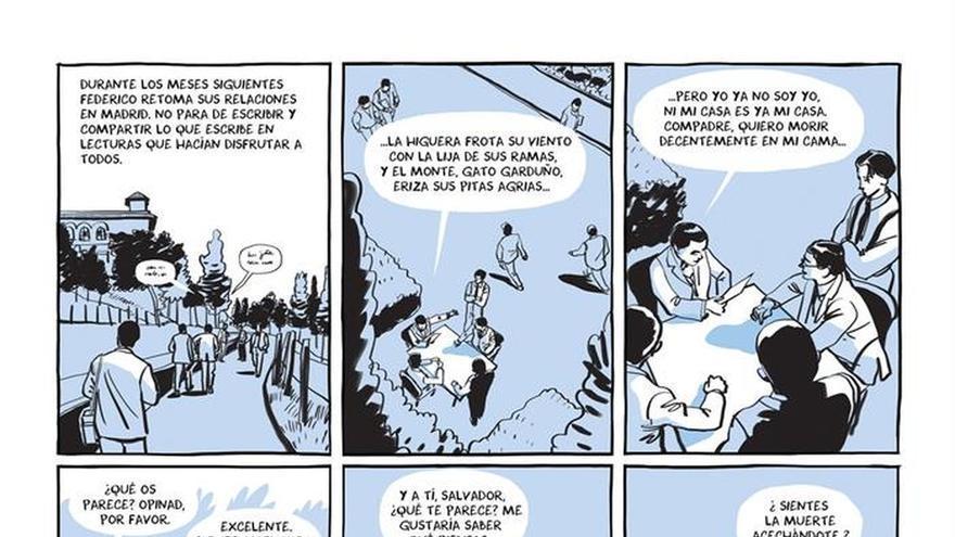 """Viñetas """"sin tapujos"""" muestran al García Lorca más real"""