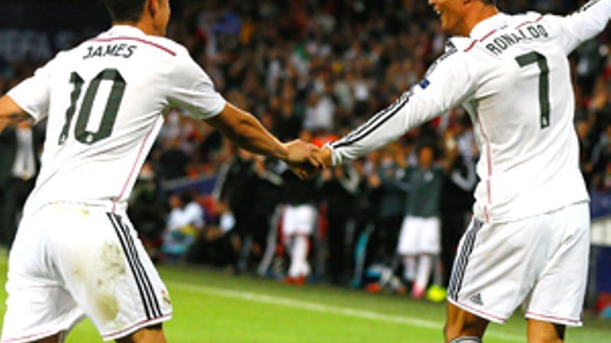 El Real Madrid arrasa en La 1 con su primera goleada de esta Champions