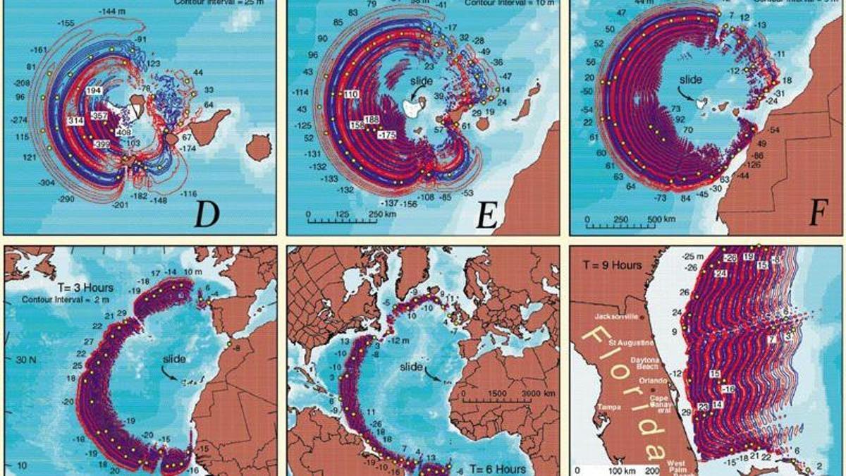 Alerta de tsunami inminente para el viernes según expertos vulcanólogos del instituto Ilitri.