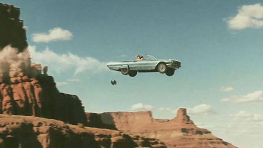 Final de la película Thelma y Louise (1991)