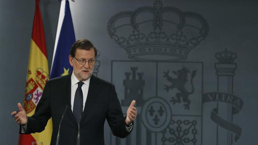 Rajoy garantiza, frente al anuncio de C's, que mantendrá el control del gasto