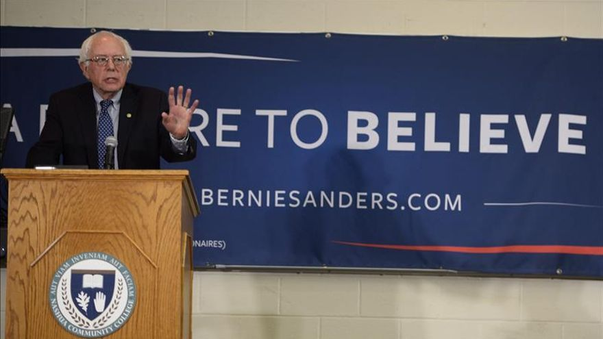 Sanders: Wall Street es una amenaza para la economía estadounidense