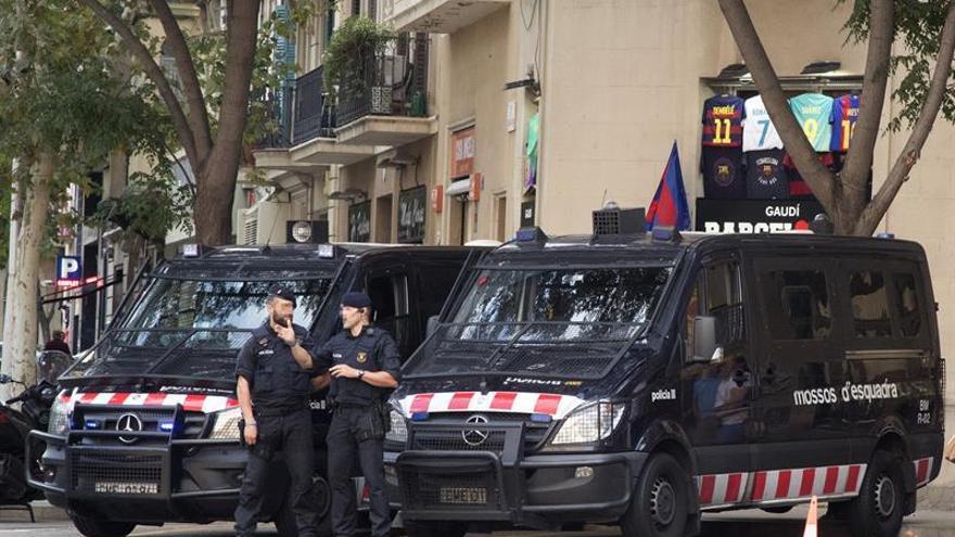 Los Mossos, la Policía y la Guardia Civil ultiman el dispositivo para impedir el 1-O