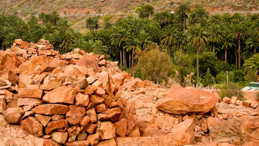 Túmulo del Rey en la Necrópolis de Arteara en la isla de Gran Canaria. VIAJAR AHORA