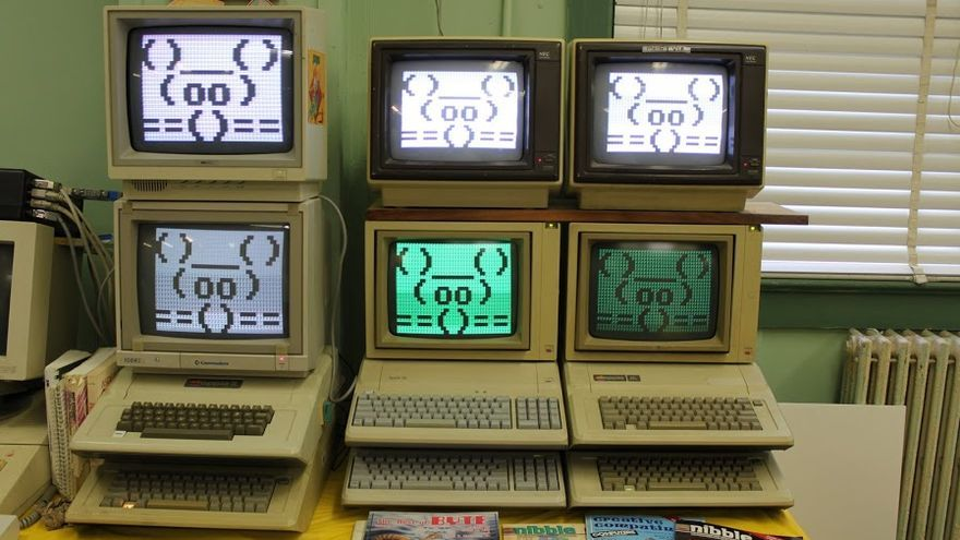 A los coleccionistas les encanta revivir antiguos ordenadores