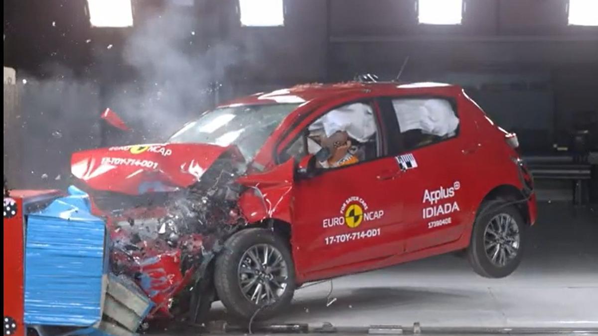 Prueba Euro NCAP.