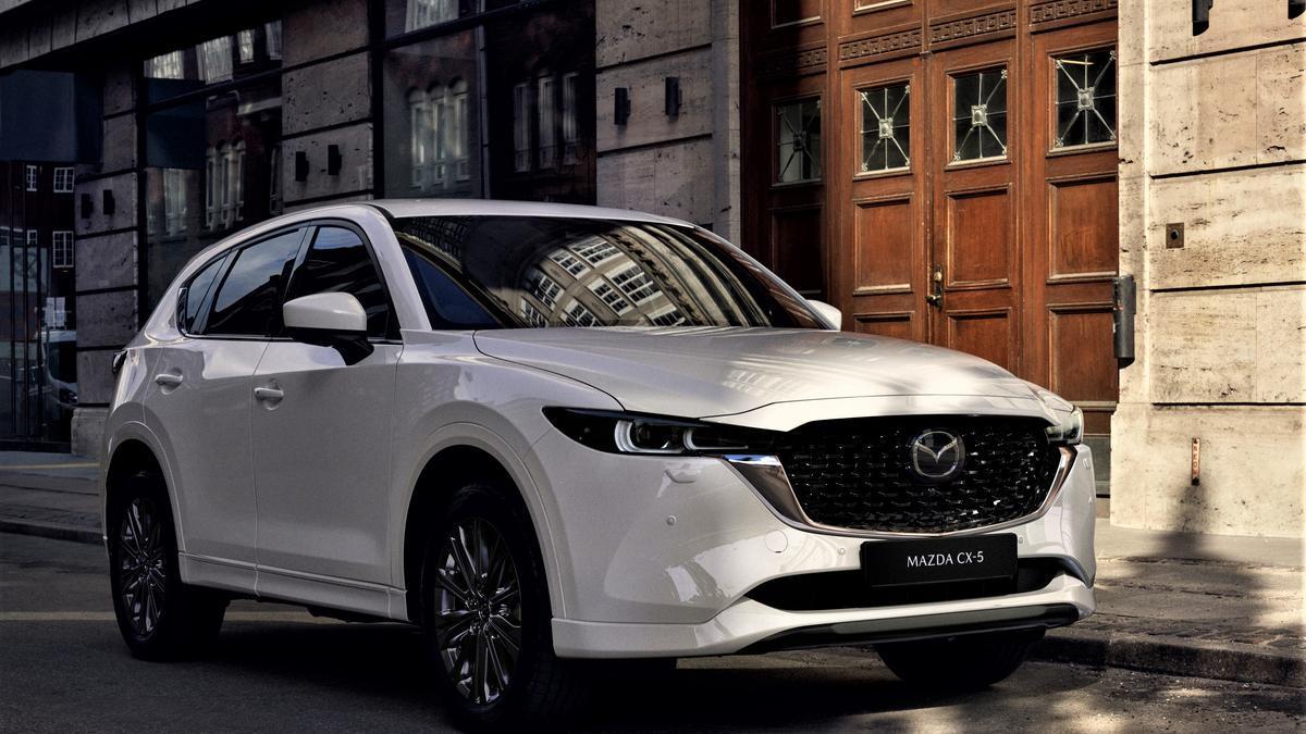 Mazda actualiza el CX-5.