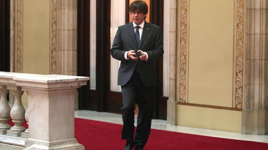 Puigdemont se expone a una pena de prisión por la convocatoria del referéndum