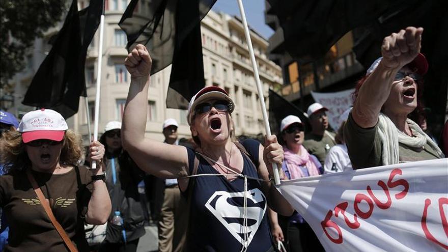 Los sindicatos griegos convocan la segunda huelga general del año contra los despidos