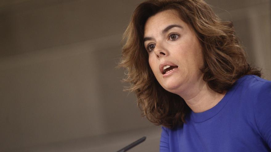 """Santamaría advierte a Mas que hasta el PNV le ha recordado """"por donde va el mundo"""" y que la crisis es lo primero"""