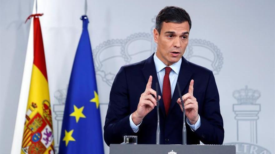 """Sánchez avala hoy el acuerdo del """"brexit"""" al lograr garantías sobre Gibraltar"""