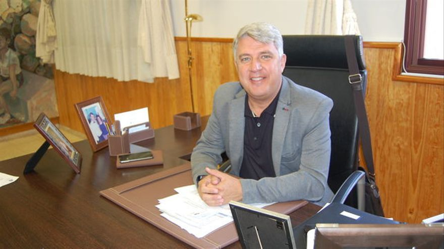 José Juan Lemes, alcalde de Arafo, inicialmente en el PP