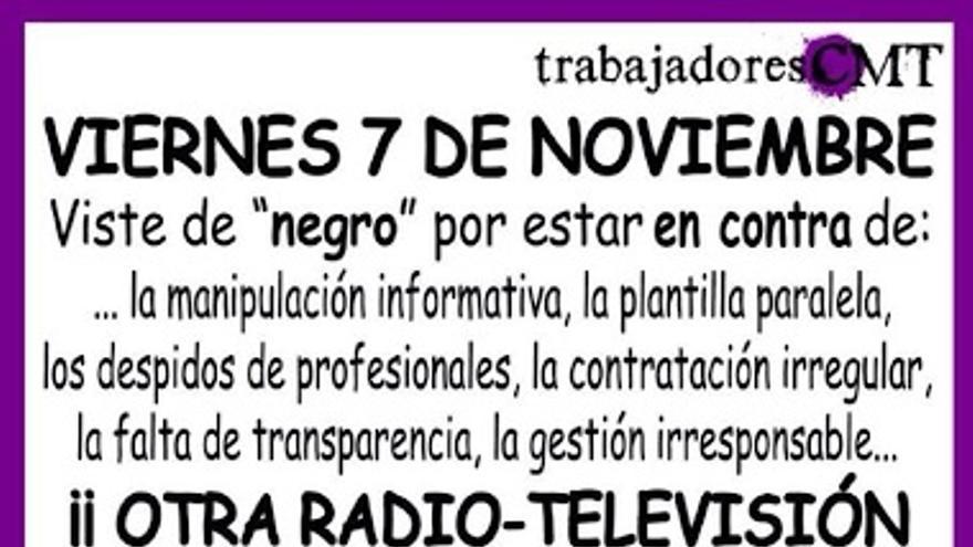 Cartel 'Viernes Negro', Castilla-La Mancha Televisión, 7/11/14