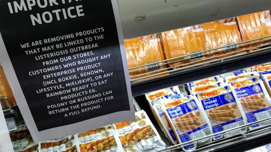 Sudáfrica declara el fin del brote de listeriosis más grave de la historia