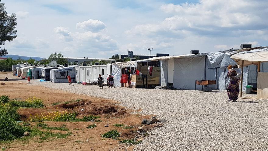 Campo de refugiados de Ritsona, Grecia / María Carrasco Muñoz