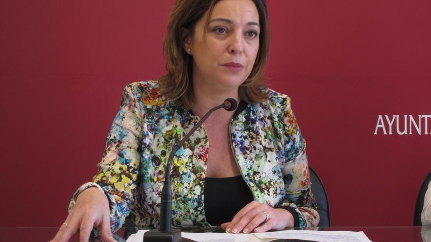 La alcaldesa de Córdoba, Isabel Ambrosio, este martes en 'La Tertulia' de Canal Sur TV