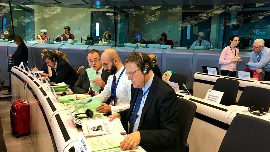 Ximo Puig en el pleno del Comité de las Regiones en Bruselas
