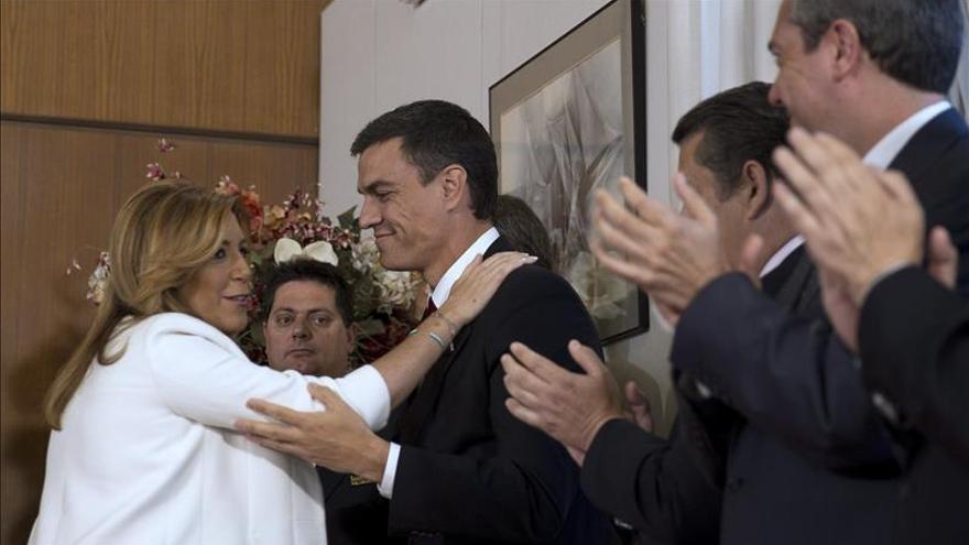 Sánchez cree que el 24-M es la antesala de la victoria del PSOE en las generales