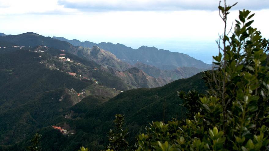 Altos de la Cordillera de Anaga, dónde se localiza El Bailadero. VIAJAR AHORA