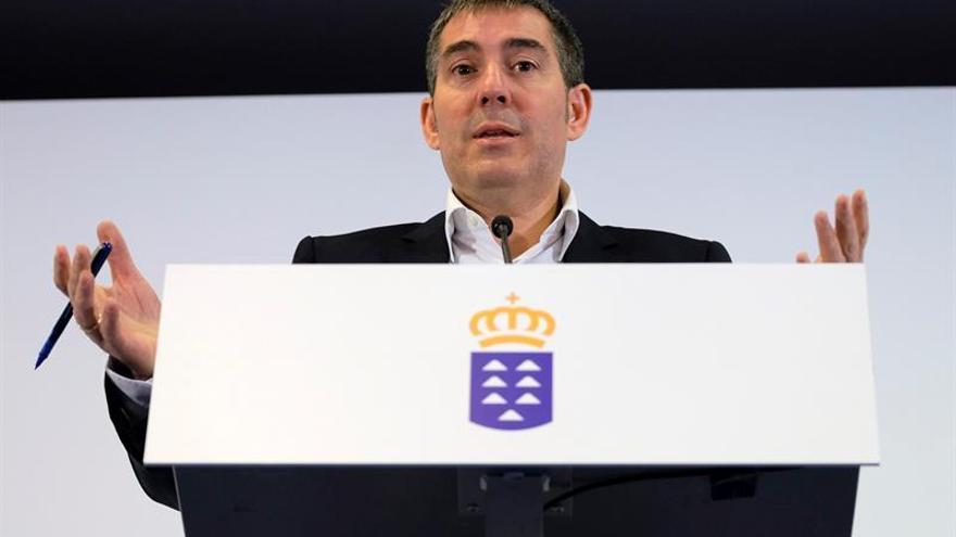 El presidente del Gobierno de Canarias, Fernando Clavijo. (EFE)