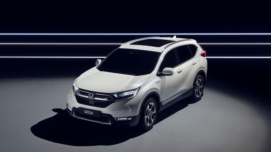 Honda presentar el CR-V Hybrid Prototype en el Salón del Automóvil de Frankfurt 2017.