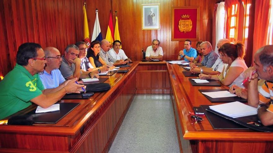 Pleno del Ayuntamiento de La Aldea.