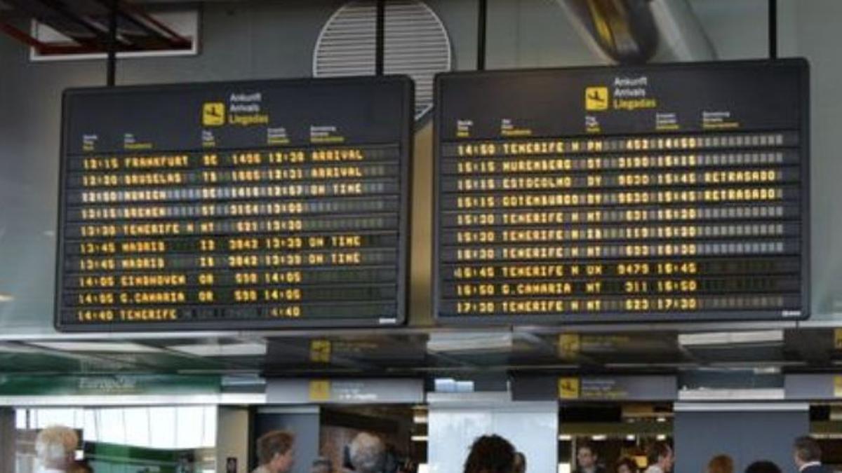 Imagen de archivo de la terminal de pasajeros del Aeropuerto de La Palma.