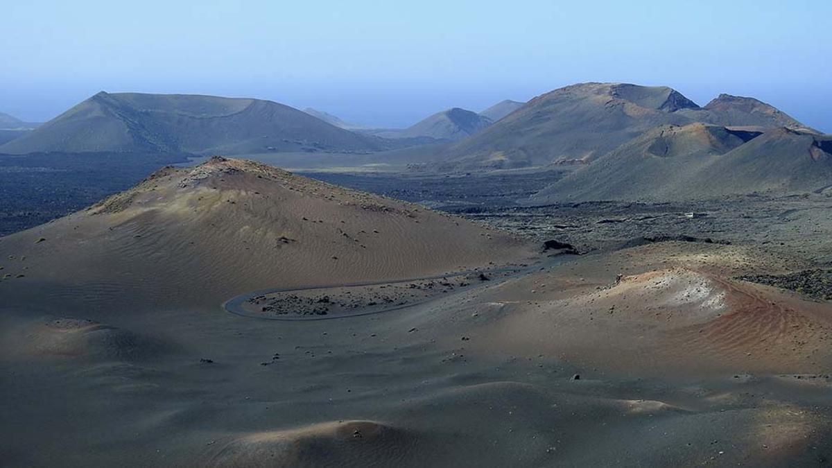 El Parque Nacional Timanfaya, en el Geoparque de la Lanzarote y Archipiélago Chinijo