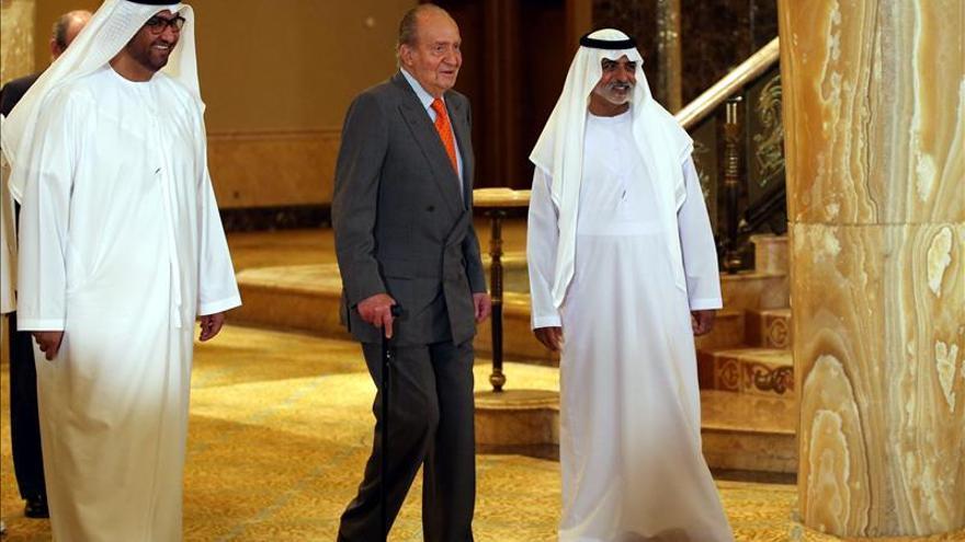 El Rey de España visita el ambicioso proyecto de ciudad financiera de Abu Dabi