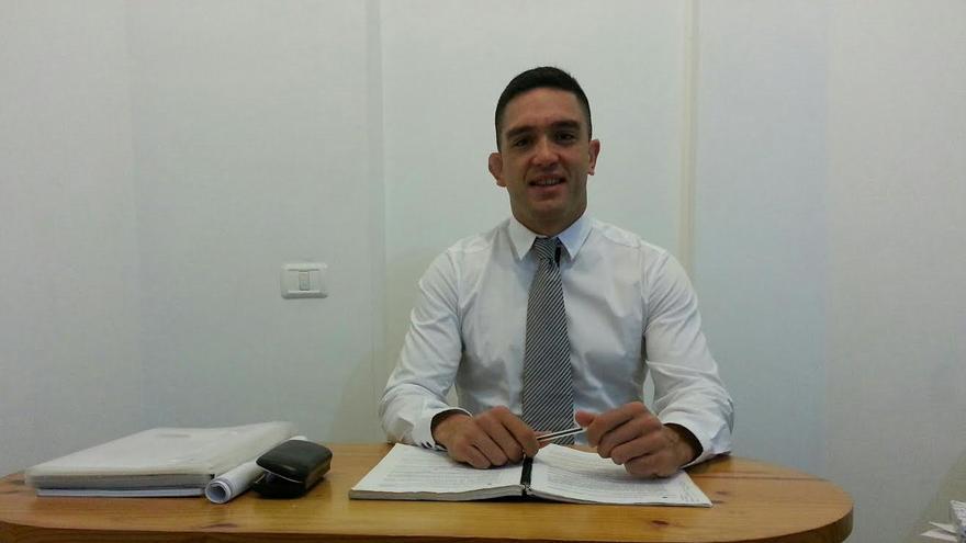 Mauro Díaz, candidato de UPyD al Parlamento de Canarias por La Palma.