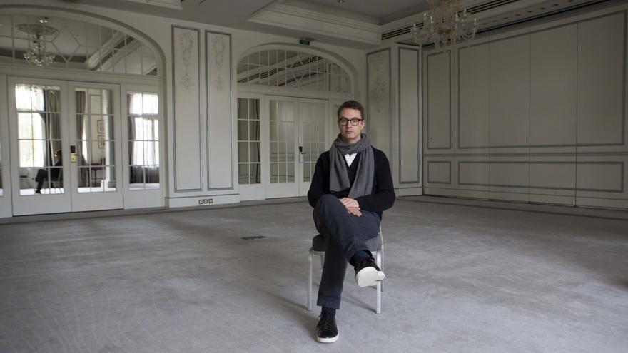 El director danés Nicolas Winding Refn, durante una visita de promoción a Madrid