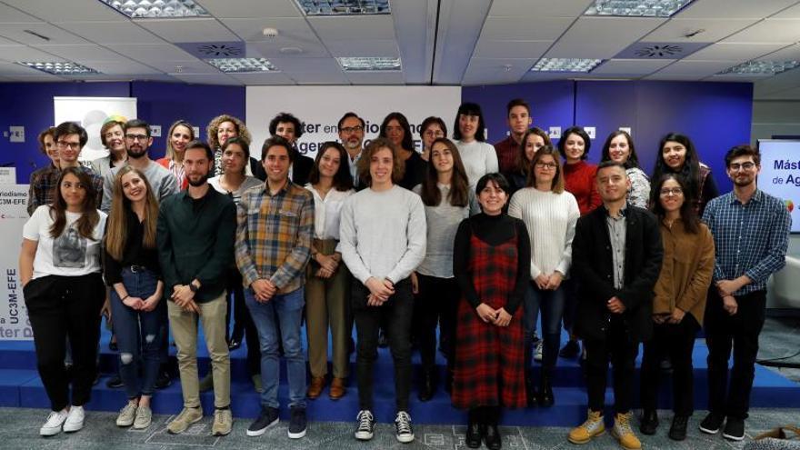 Veintitrés jóvenes periodistas comienzan el Máster UC3M-EFE