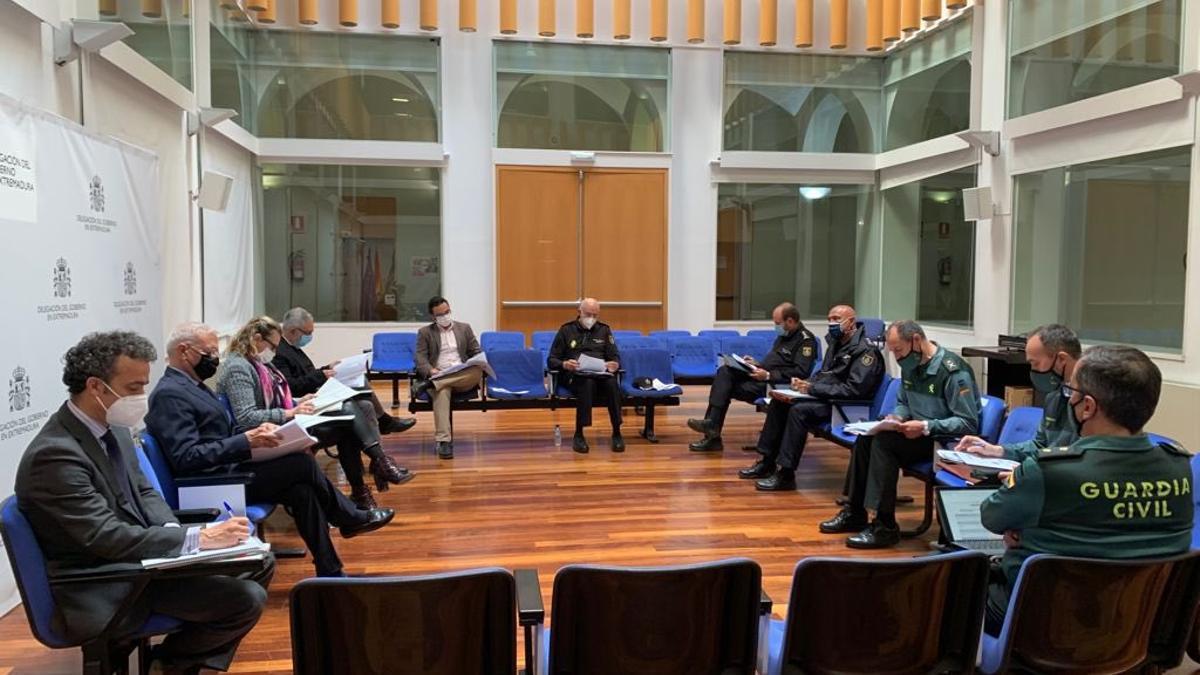 Reunión de la Junta Regional de Seguridad