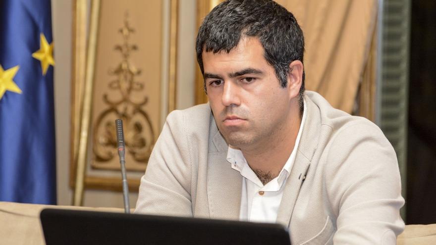 El director de Ikuspegi, Gorka Moreno.