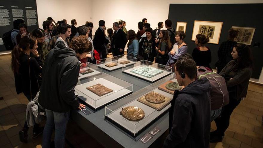 Una exposición sigue la huella del arte sumerio en el arte moderno y contemporáneo