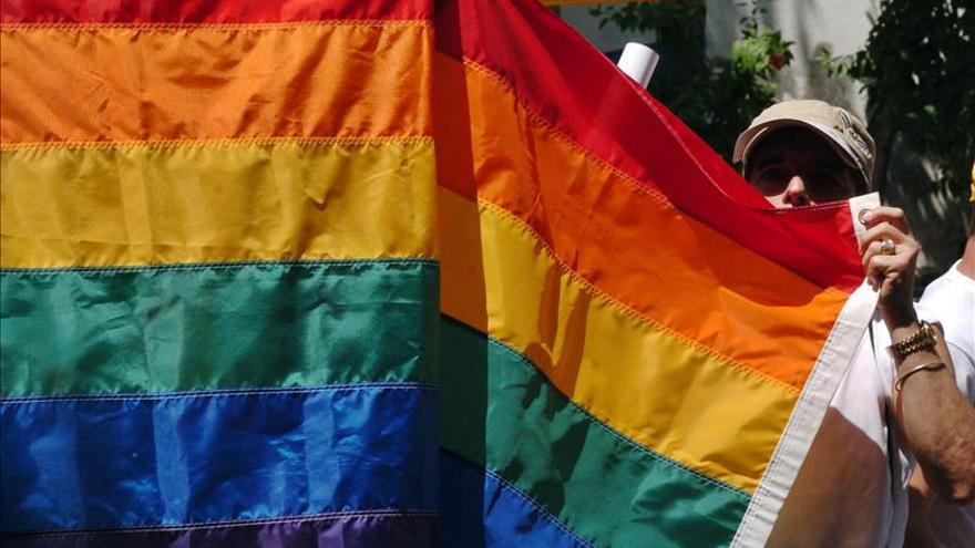Fiesta y reivindicación en Copacabana durante el desfile del orgullo gay